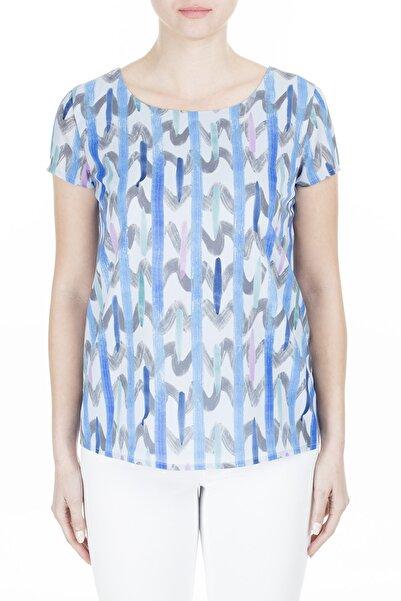 Emporio Armani Kadın Mavi Bluz 3H2K84 2N4Iz F702
