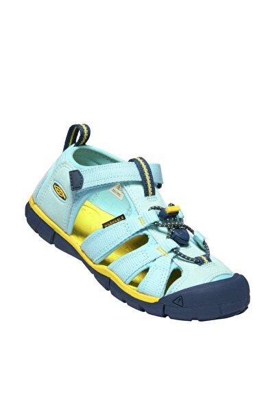 Keen Seacamp II CNX Genç Sandalet Yeşil/Sarı