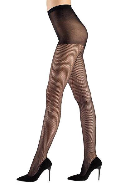 Mite Love File Külotlu Çorap 15 Denye Siyah
