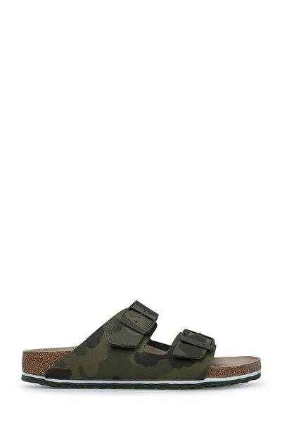 Birkenstock DESERT SOIL CAMO GREEN Unisex Terlik ve Sandalet