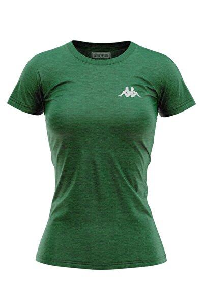 Kappa Kadın T-shirt Bossy Yeşil
