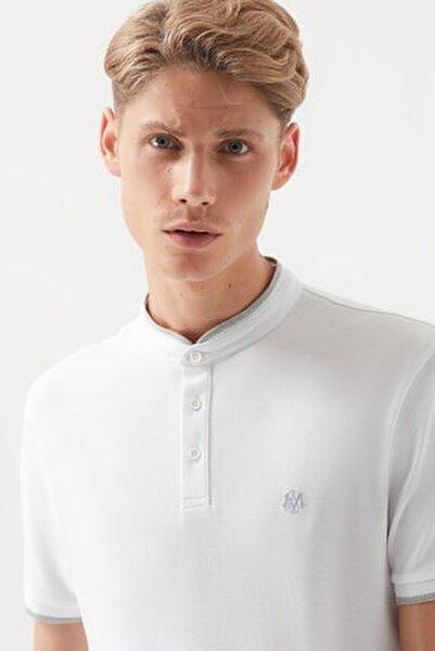 Erkek Beyaz Polo T-Shirt 066154-620