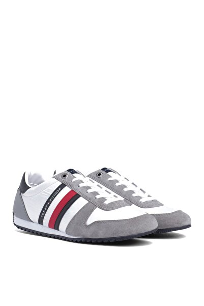 Tommy Hilfiger Erkek Essential Nylon Runner Sneaker
