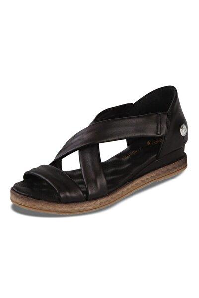 Mammamia Yeni Sezon Deri Sandalet