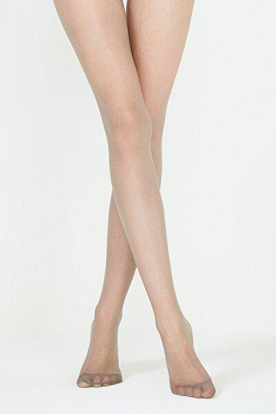 Penti Fit 15 Gümüş Gri Külotlu Çorap | Pclp0a5k15skgg