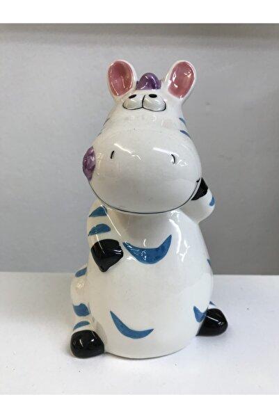 Steam Sevimli Porselen Zebra Kumbara