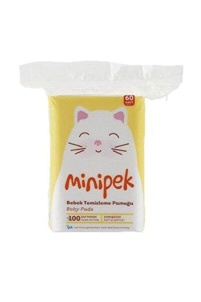 İpek Min Bebek Temizleme Pamuğu 60 Lı 20 Paket 1200 Adet