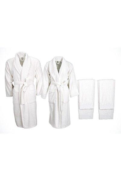 Minteks Soft 6 Parça Aile Seti Beyaz-beyaz