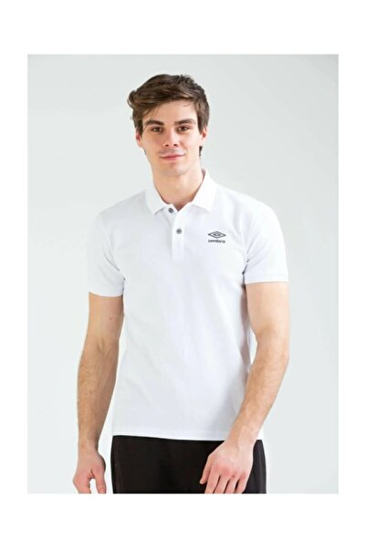 UMBRO Erkek Beyaz Polo Yaka T-shirt Tf-0057 Bath Polo Tf-0057