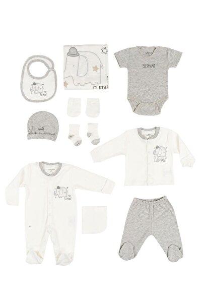10222 Elephant Erkek Bebek 10'lu Hastane Çıkışı Seti