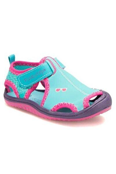 Pinkstep Pink Step Jüpiter-4 Mavi Kız Çocuk Cırtlı Sandalet