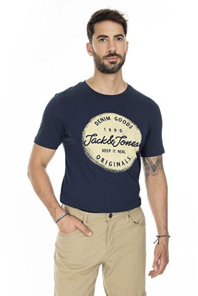 Jack & Jones Jack Jones Tişört Torino Sıfır Yaka 12172049-NVY