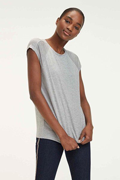 Tommy Hilfiger Kadın Vianne C-NK Top T-Shirt