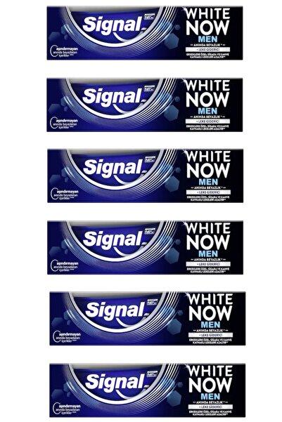 Signal White Now Men Diş Macunu 75 ml X 6 Adet