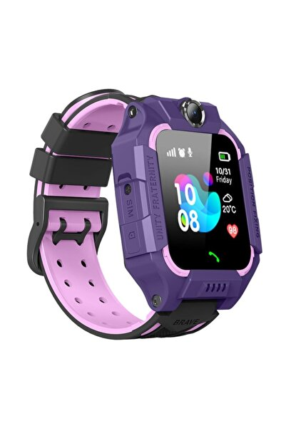 Smartbell Mor Q500/2020 Sim Kartlı Akıllı Çocuk Saati