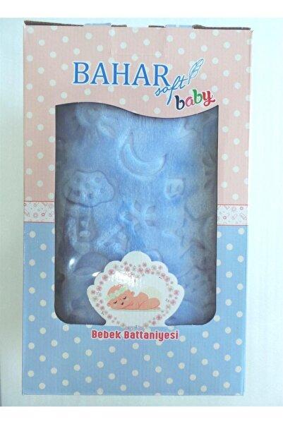 Bahar Bebek Mavi Battaniye