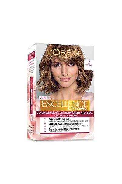 Saç Boyası - Excellence Creme 7 Kumral 8690595357157