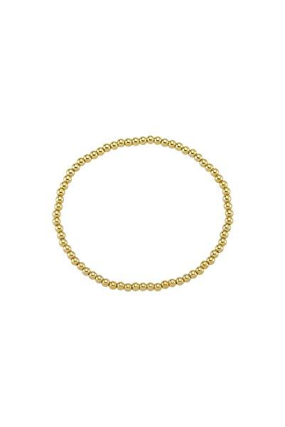 Luzdemia Gz Goldbead Bileklik - 3 Mm - 18cm