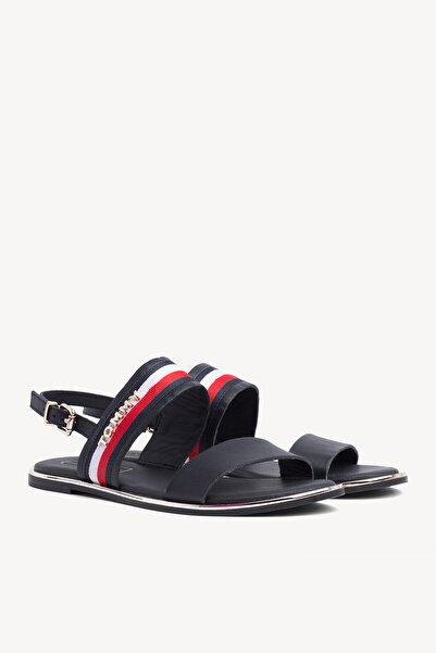 Tommy Hilfiger Kadın Flat Corporate Ribbon Sandalet