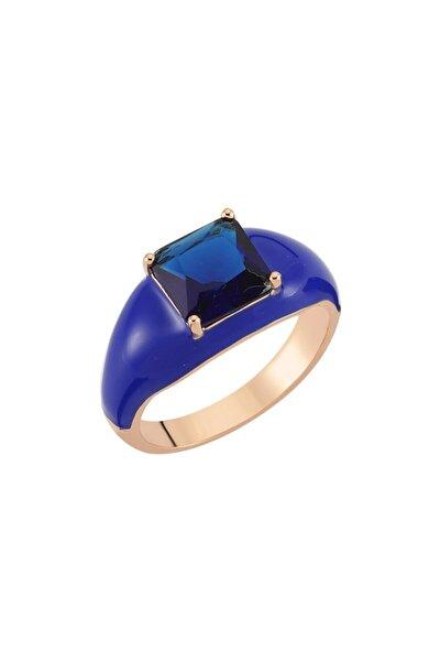 Luzdemia H. Dark Blue Yüzük 925
