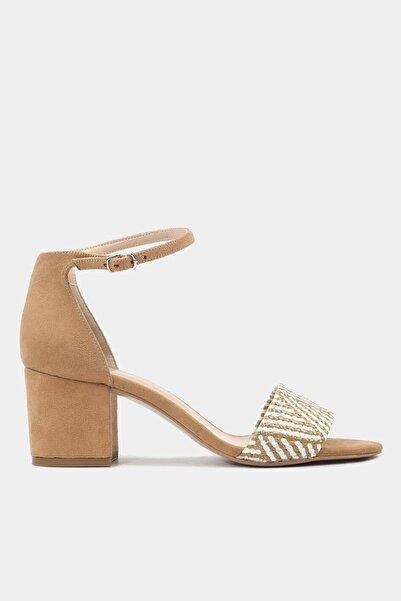 Hotiç Vizon Kadın Topuklu Sandalet