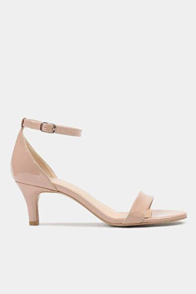 Hotiç Pudra Kadın Topuklu Sandalet