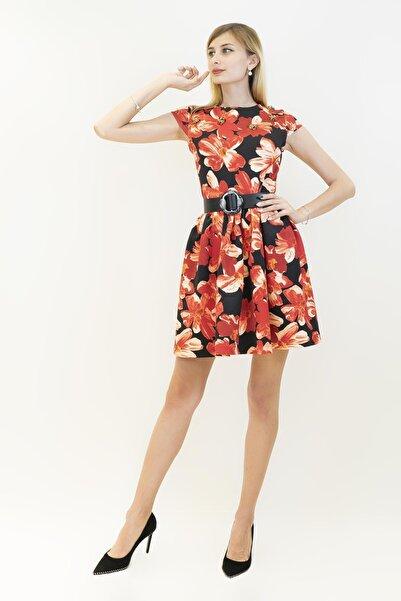 GİZİA Kadın Turuncu Elbise M14k5r1001