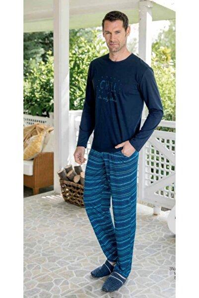 Yeni İnci Erkek 3 Lü Pijama Takım Epj672