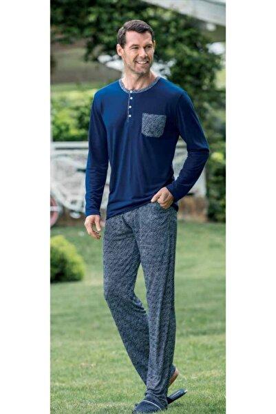 Yeni İnci Epj670 Uzun Kollu Erkek Pijama Takımı