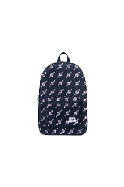Herschel Supply Co. Herschel Sırt Çantası Daypack Navy Ftr Print Independent Collection