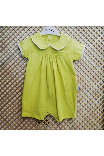 Pierre Cardin Baby Pierre Cardin Bebe Yaka Kız Tulum Sarı