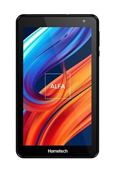 """Hometech Alfa 7m 16 Gb 7"""" Ips Tablet Bilgisayar Uzay Gri"""