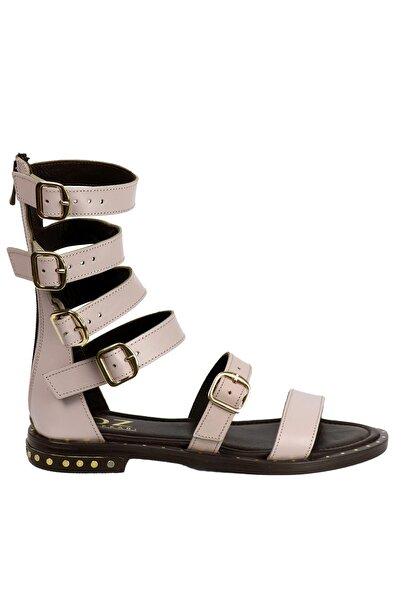 OZ DOROTHY Kadın Lila Hakiki Deri Sandalet