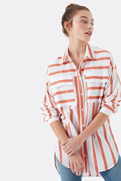 Kadın Pembe Gömlek 122132-30785