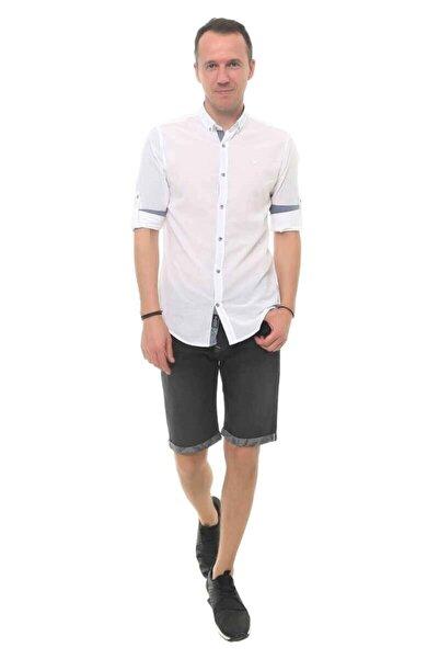 Cazador Erkek Beyaz Uzun Kol Gömlek 2665