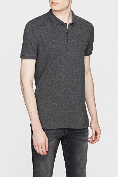 Erkek Gri Polo T-Shirt 063247-28392