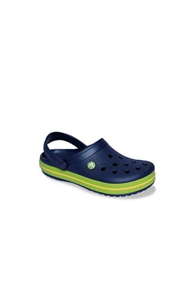 Crocs Crocband Kadın Terlik & Sandalet - Navy/Volt Green/Lemon (Lacivert/Volt Yeşil/Limon Sarı)