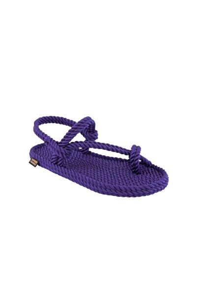 Nomadic Republic Hawaii Kadın Halat & Ip Sandalet - Mor