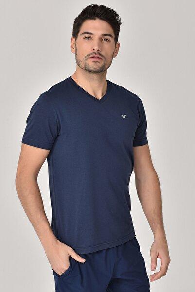 bilcee Lacivert Erkek T-shirt  GS-8898