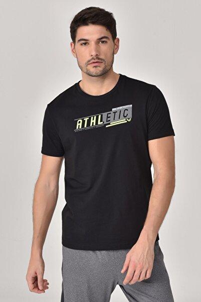 bilcee Siyah Erkek T-shirt  GS-8812