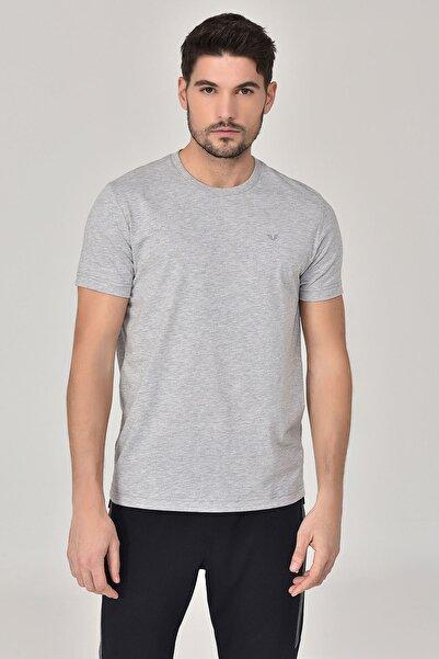 bilcee Gri Erkek T-shirt  GS-8897