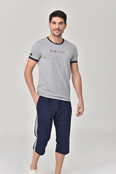 bilcee Gri Erkek T-shirt  GS-8250
