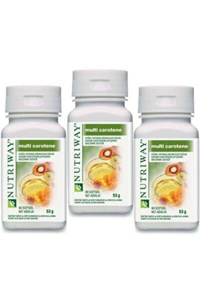 Amway Multi-carotene Nutrıway 3 Kutu