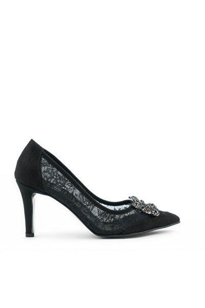 Tanca Sıyah Dantel Kadın Casual Ayakkabı  201Tck782 Is240