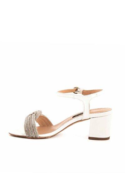 Tanca Beyaz Rugan Kadın Casual Ayakkabı  201Tck277 1582