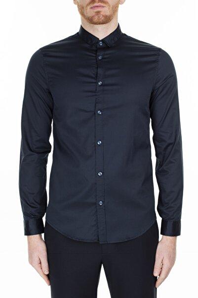 Armani Exchange Erkek Siyah  Gömlek 3hzc14 Znauz 1510