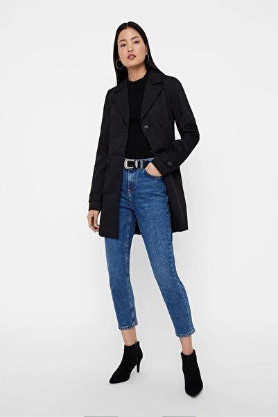 Vero Moda Kadın Siyah Trençkot 10206992