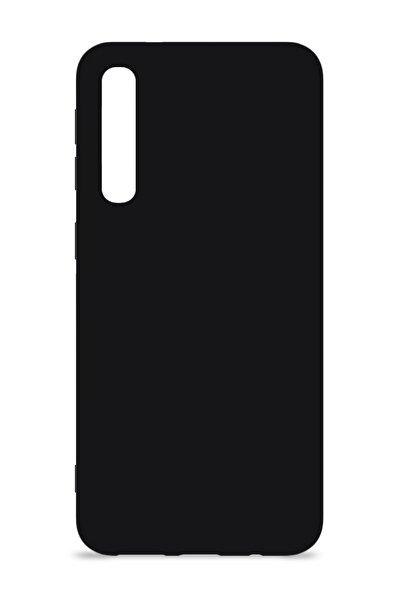MobileGaraj Xiaomi Mi 9 Lite Içi Kadife Uzy Lansman Silikon Kılıf Siyah