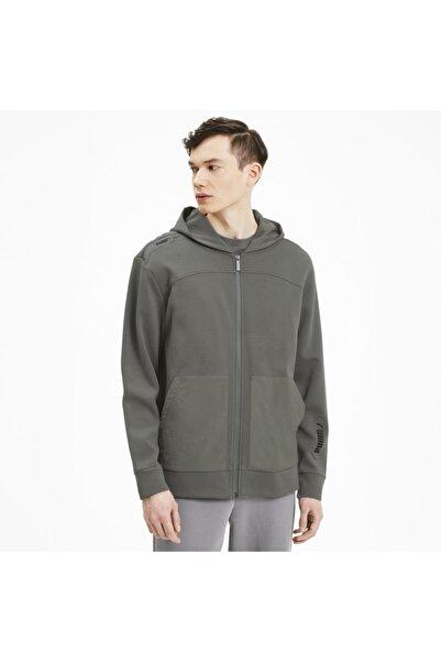 Puma NU-TILITY FZ HOODIE Gri Erkek Sweatshirt 101119417