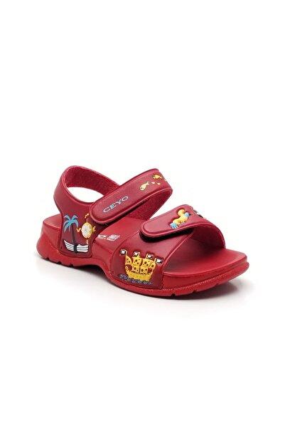 Ceyo 4000-40 Çocuk Sandalet Kırmızı